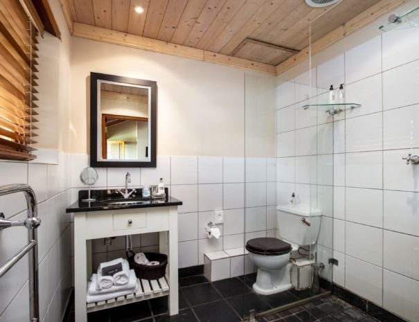 De Hoek Manor - Vineyard Room Bathroom
