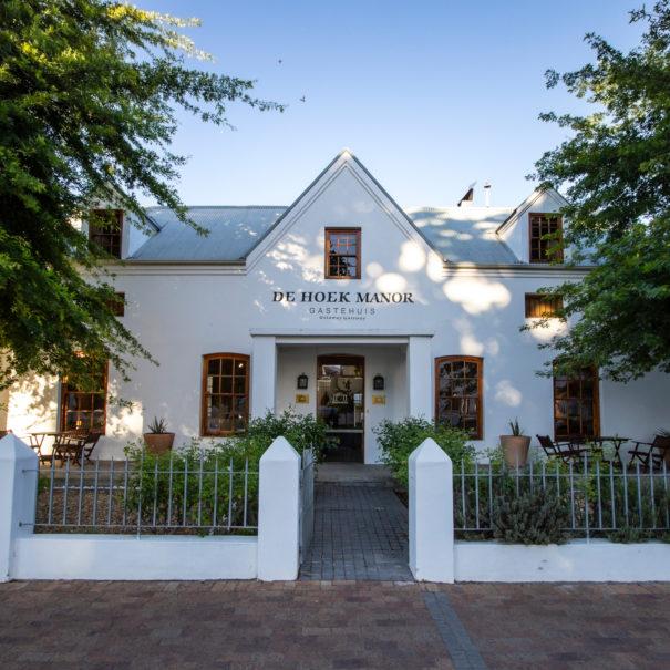 De Hoek Manor Main Entrance