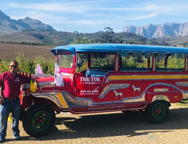 Stellenbosch Tuk-Tuk Wine Tour